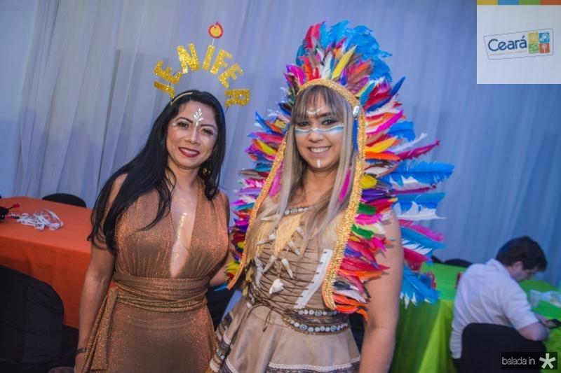 Ana Costa e Luciana Athayde