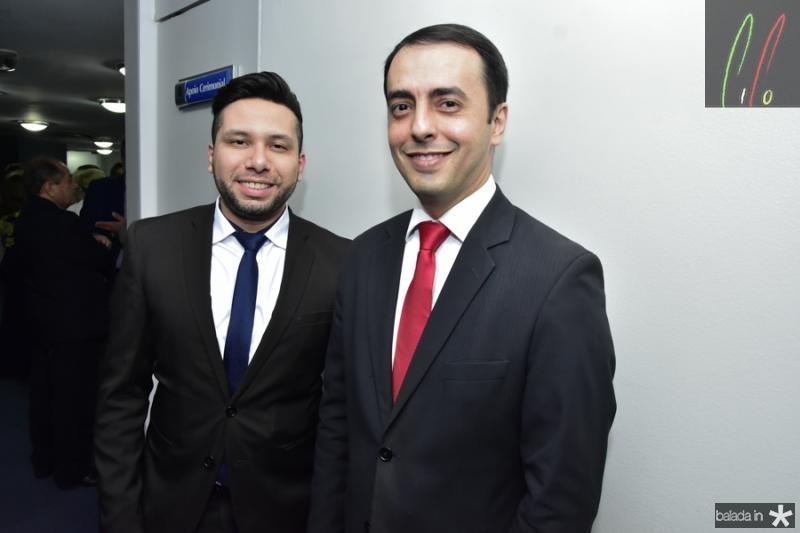 Wilker Matos e Cristiano Aragao