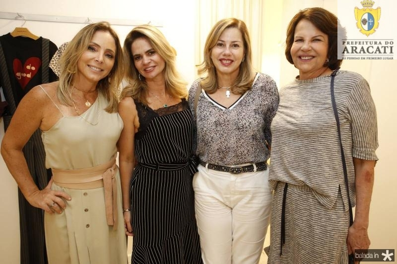 Ana Paula Daud, Germana Cavalcante, Vera Ribeiro e Ana Crsitia Fiuza