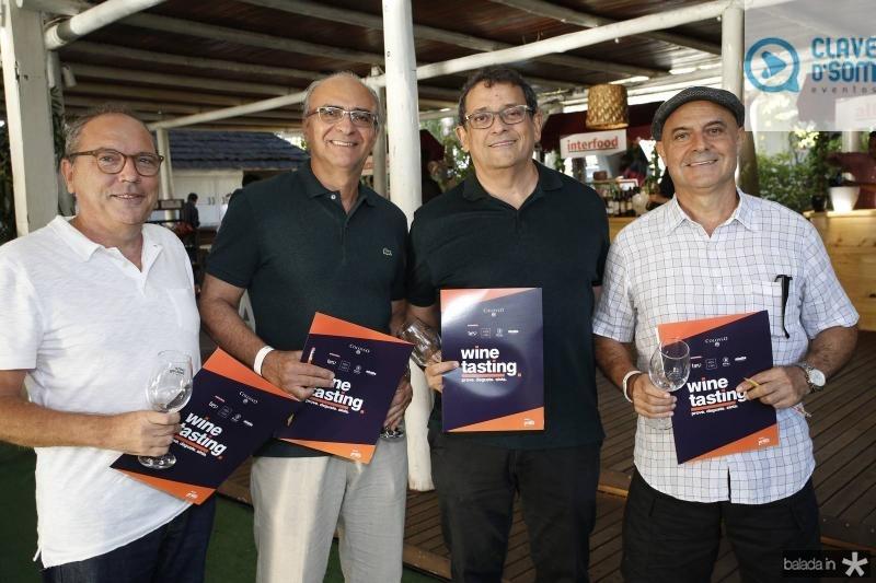 Neto Galdino, Fernando Barreira, Jose Guedes e Murilo Parente