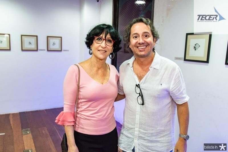 Denise Matta e Rodrigo Parente
