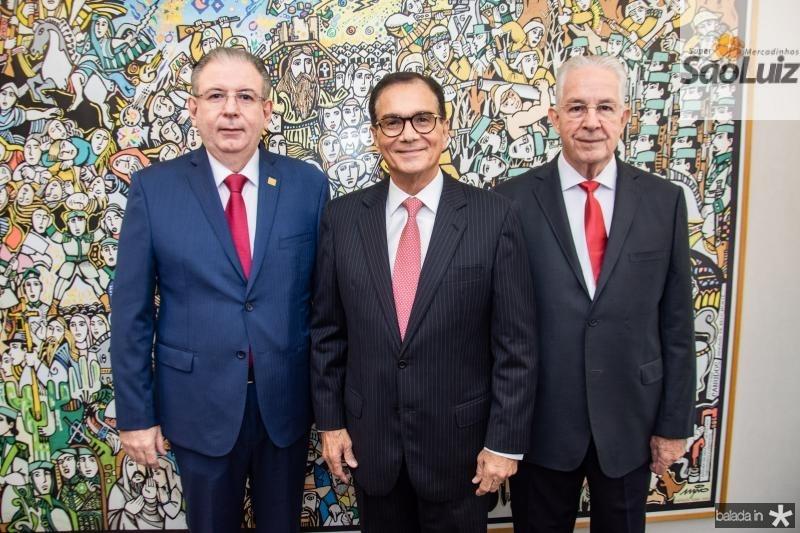 Ricardo Cavalcante, Beto Studart e Carlos Prado