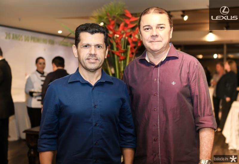 Erick Vasconcelos e Elizeu Barros