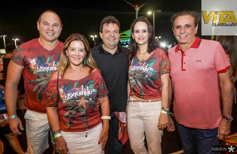 Freitas Junior, Fernanda Matoso, Fernando Ferrer, Adriana Miranda e Gaudencio Lucena
