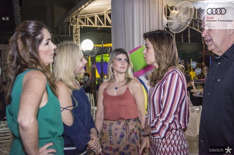 Fernanda Baquitti, Roberta Bonorandi, Gisele Bezerra e Rosele Diogo