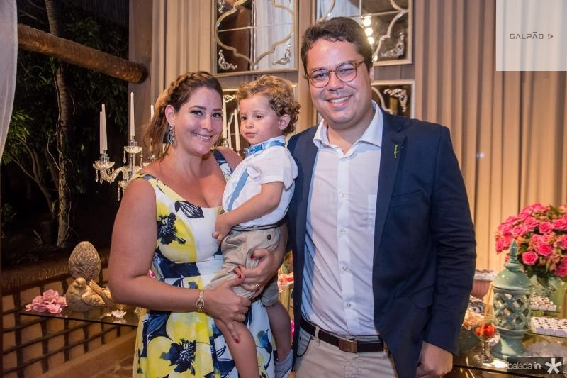 Nayana, Henrico e Jonas Becker