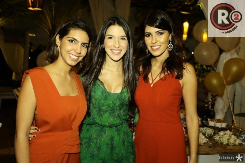 Carla Laprovitera, Lisandra Fujita e Flavia Simoes
