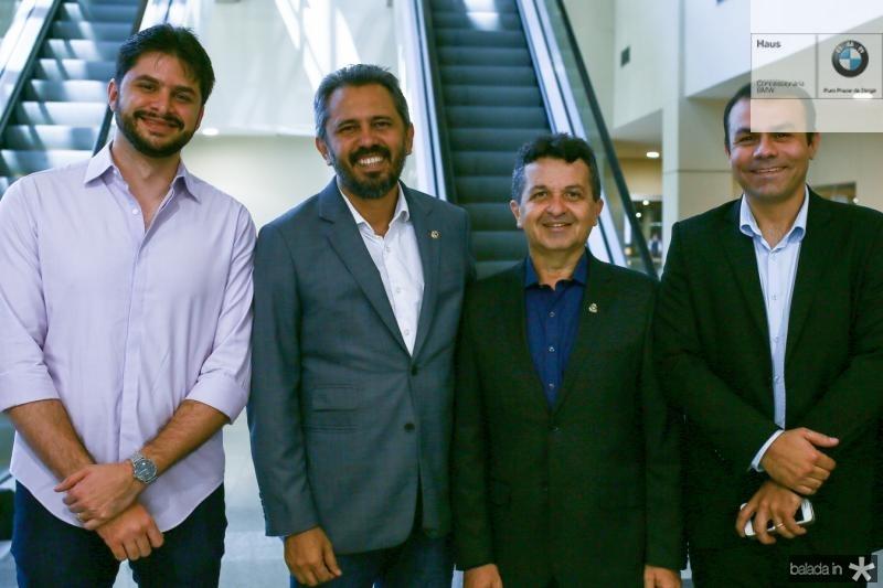 Guilherme Landim, Elmano, Jeova e Guto Mota