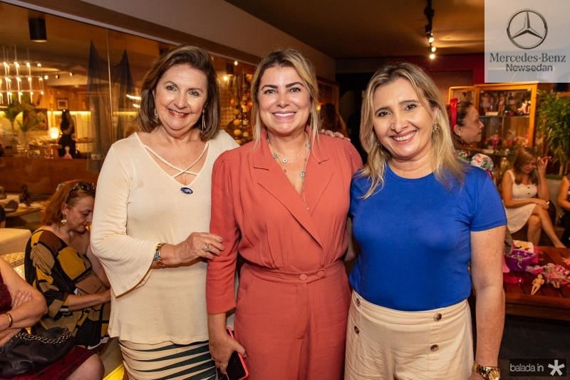 Ana Maria Belchior, Cris Cavalcante e Isabel Dionisio