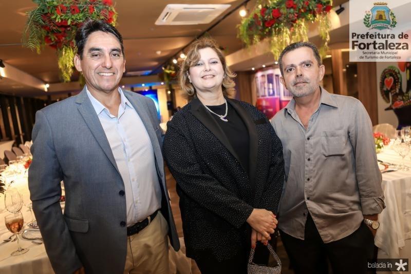 Miguel Maurique, Roberta Boriz e Edinizio Fernandes