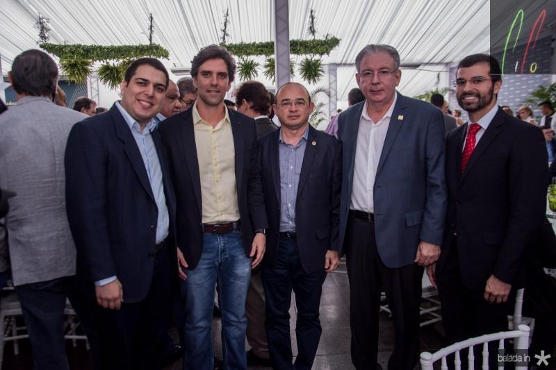 Darlan Moreira, Rui do Ceara, Sergio Aguiar, Ricardo Cavalcante e Thomaz Filho