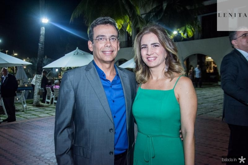 Gustavo Porto e Karmilse Marinho