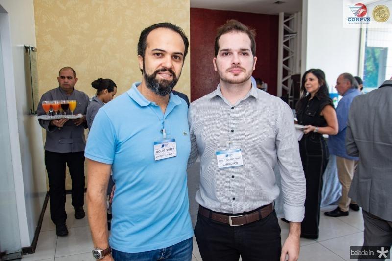 Adolfo Ferrer e Paulo Rogerio Filho