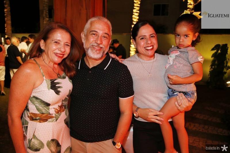 Kelseni Araujo, Sergio Ricardo, Ticiana Lima e Ana Julia