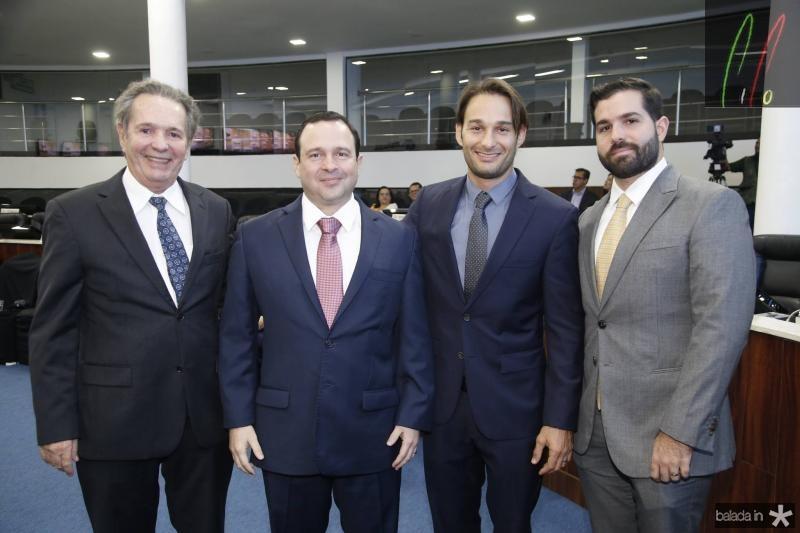 Claudio Rocha, Igor Barroso, Claudio e Felipe Rocha