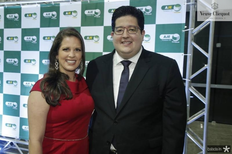 Sara Teixeira e Yuri Torquato