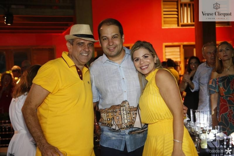 Andre Vecosa, Anlexandre e Karla pinheiro