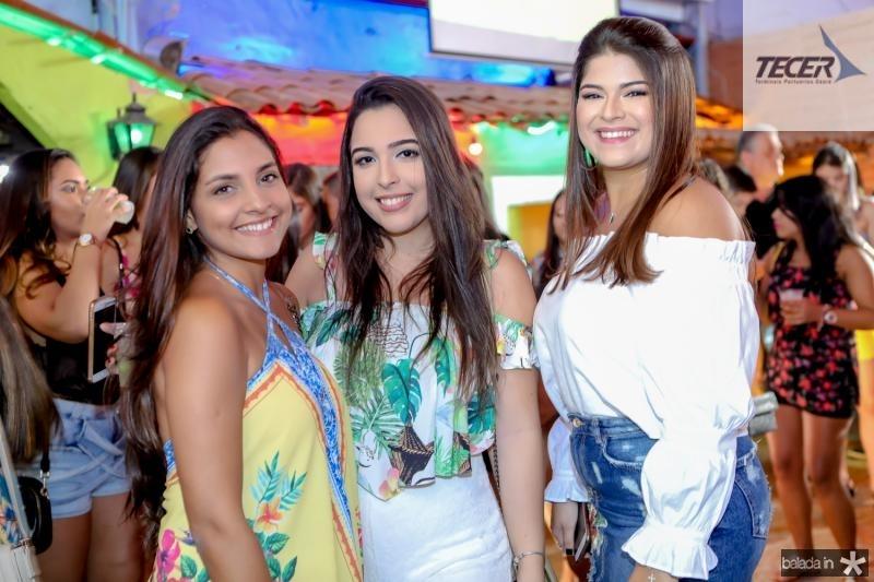 Livia Cabral, Jessica Gurgel e Lara Rodrigues