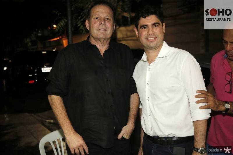 Julinho Ventura e Bruno Barreira