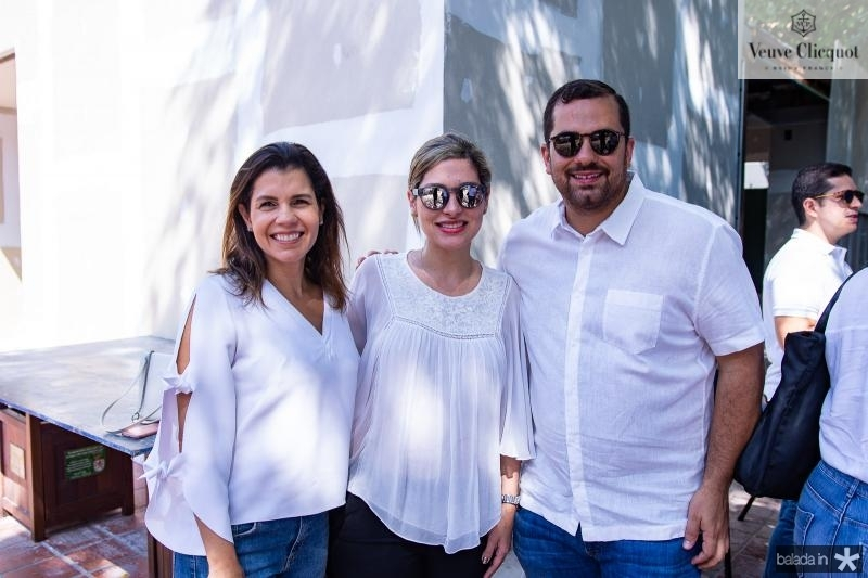 Claudia Diniz, Natalia Magalhaes e Davi Silveira