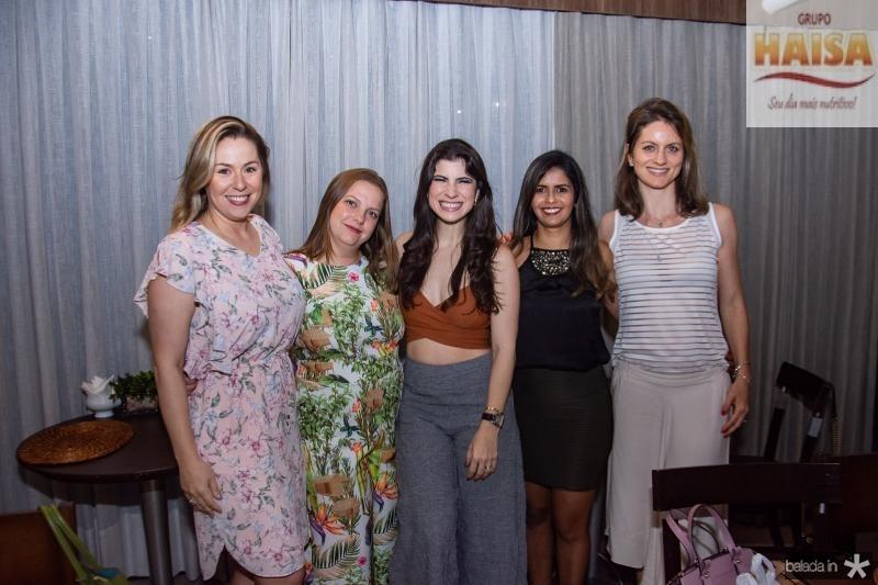 Nanete Castelo Branco, Renata Paraiba, Themis Briand, Eliane Medeiros e Carol Harter