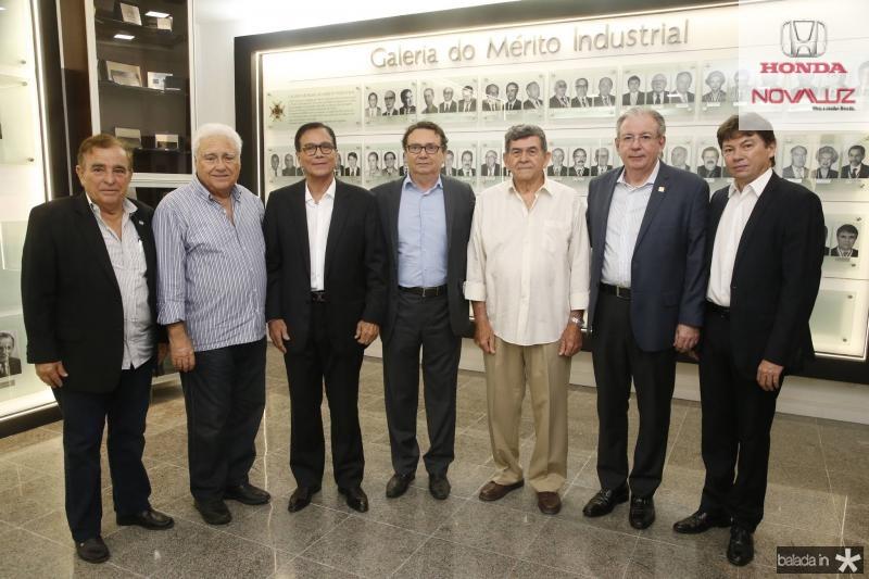 Claudio Targino, Waldir Diogo, Beto Studart, Carlos Rubens, Orlando Siqueira, Ricardo Cavalcante e Edgar Gadelha