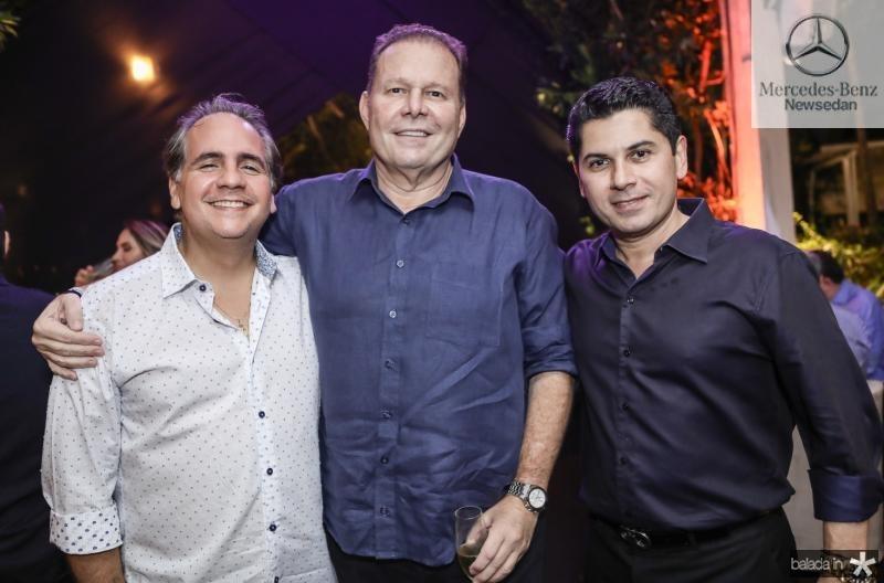 Ricardo Bacelar, Julio Ventura e Pompeu Vasconcelos