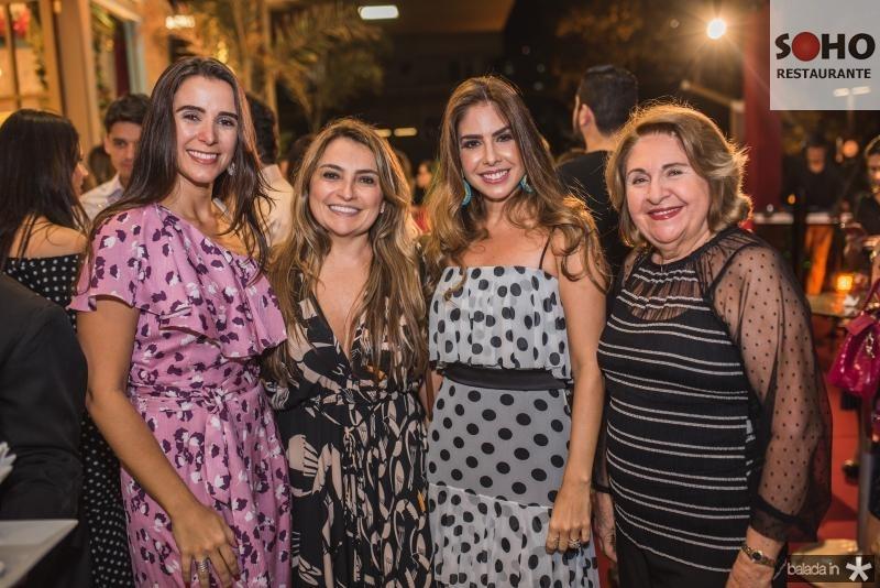 Vivian Barbosa, Valeria feitosa, Rafaela Otoch e Vera Filgueiras