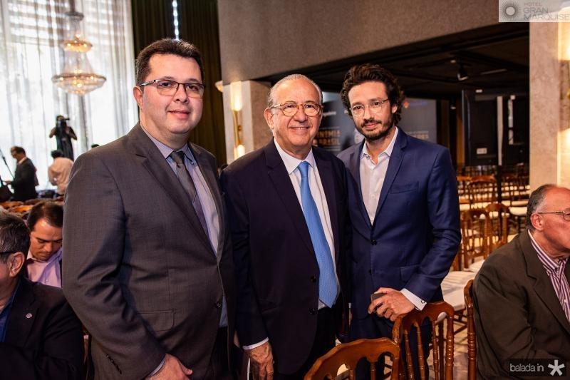 Sanzio Teixeira, Candido Quindere e Marcelo Quindere