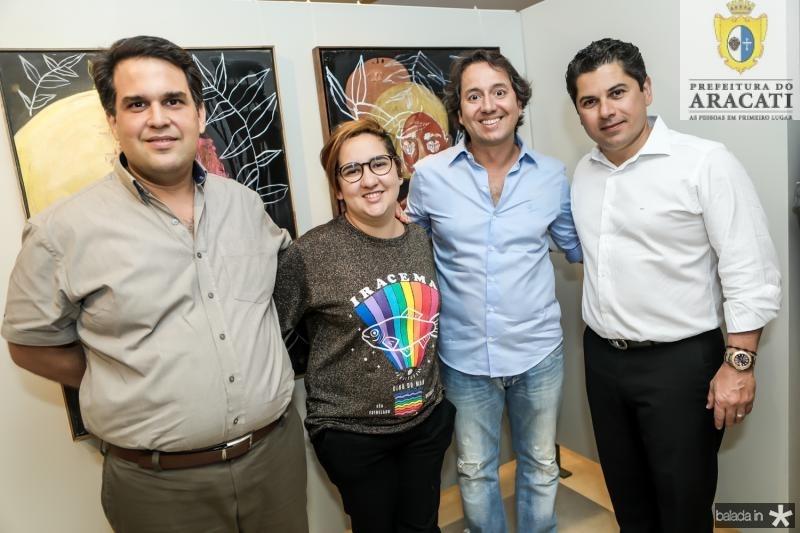 Tulio Paracampos, Azuhli, Ricardo Parente e Pompeu Vasconcelos