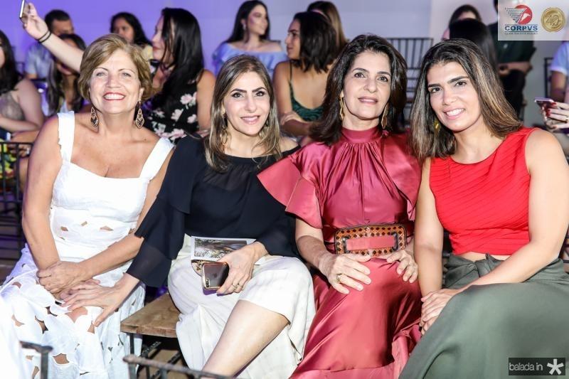 Fatima Albuquerque, Denise Sadi, Soraia Pinheiro e Sana Roque