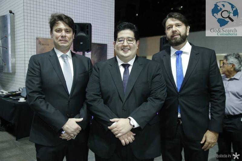 Ricardo Ary, Yuri Torquato e Elinaldo Diniz