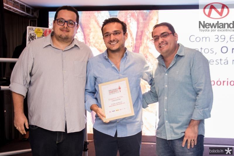 Jarbas Lacerda,  Manoel Machado e Inacio Junior