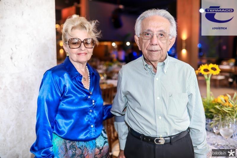 Lidia e Elias Salomao