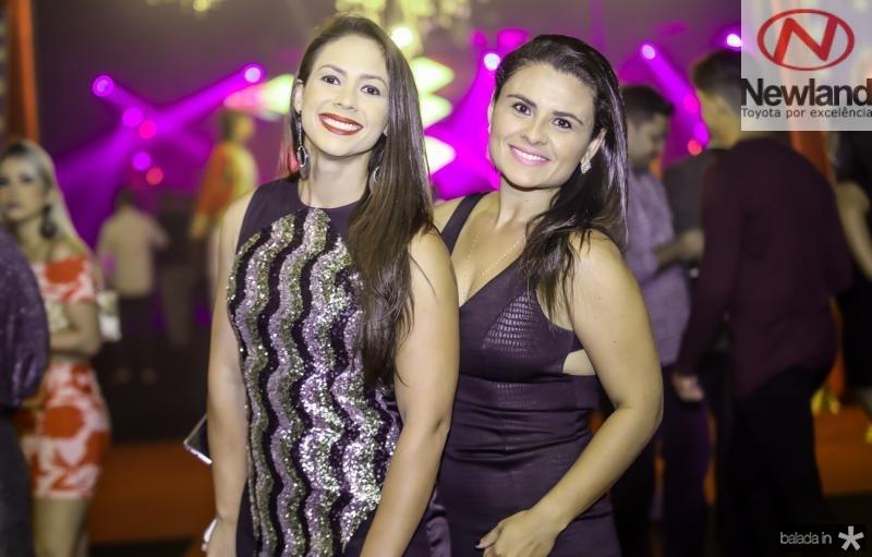 Greice Carvalho e Mariana Duarte
