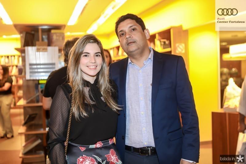 Juliana Bastos e  Bruno Queiroz