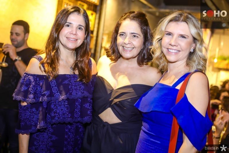 Maria Lucia Negrao, Giana Studart e Georgea Fontes
