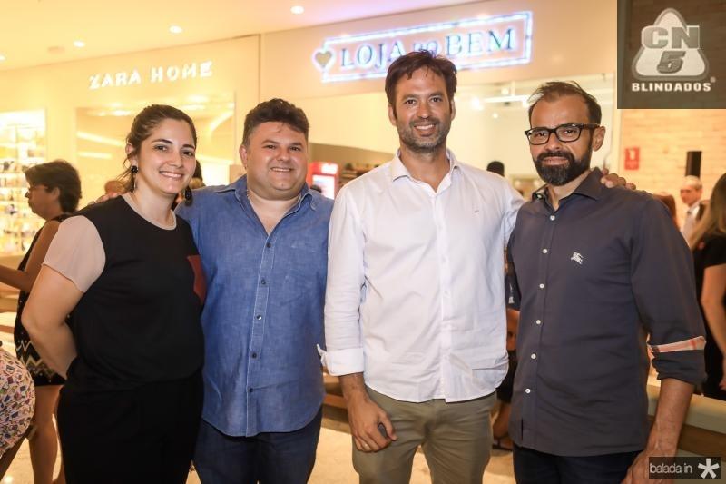 Patricia Lavour e Lavour Neto, Danilo Regis e Andre Mota
