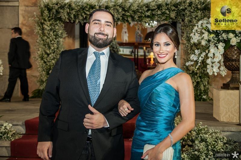 João Vitor Torres e Ana Carolina Bichucher