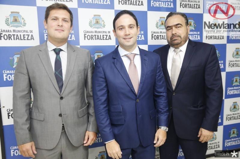 Joao Rafael, Thiago Asfor e Helio Parente