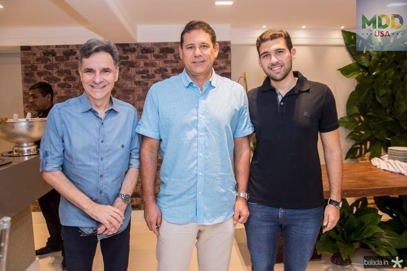 Fernando Deusdara, Marcus Medeiros e Lucas Medeiros
