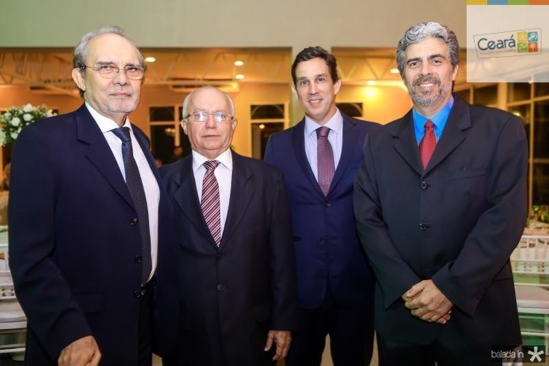 Joao Teixeira, Chico Cesar, Tom Prado e Marcos Tavares