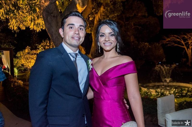 Eduardo Teixeira e Isabela Teixeira