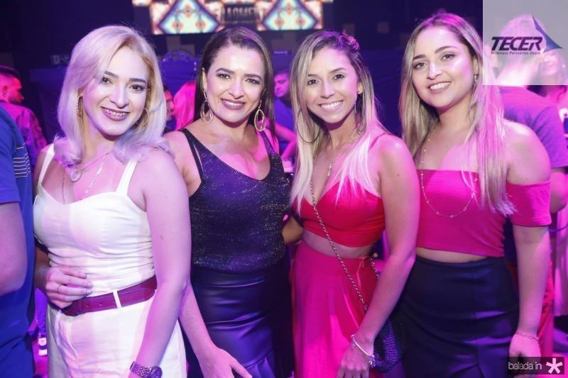 Livia Castro, Alexsandra Valeria, Sandy Lima e Erica Ribeiro