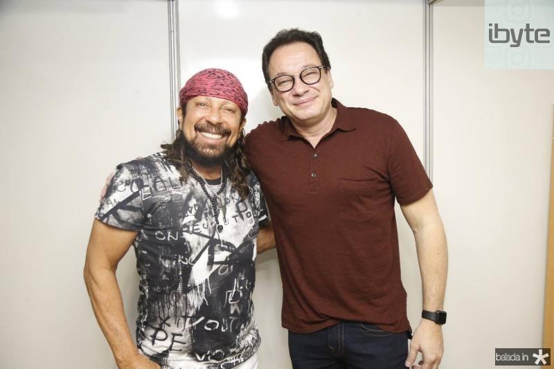 Bell Marques e Pedro Neto