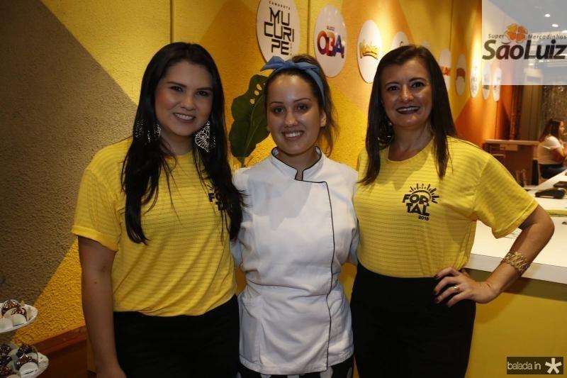 Flavia Martins, Ananda Frota e Sandra Bezerra 2