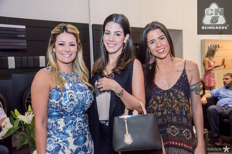 Tatiana Luna, Carla Brasil e Louise Nobrega