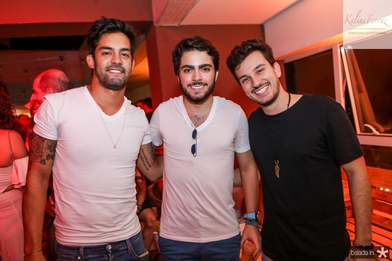 Heitor Melo, Rodmac e Rafael Boras