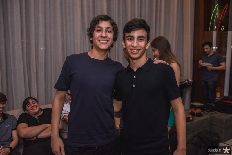 Leandro Magalhaes e Davi Lima