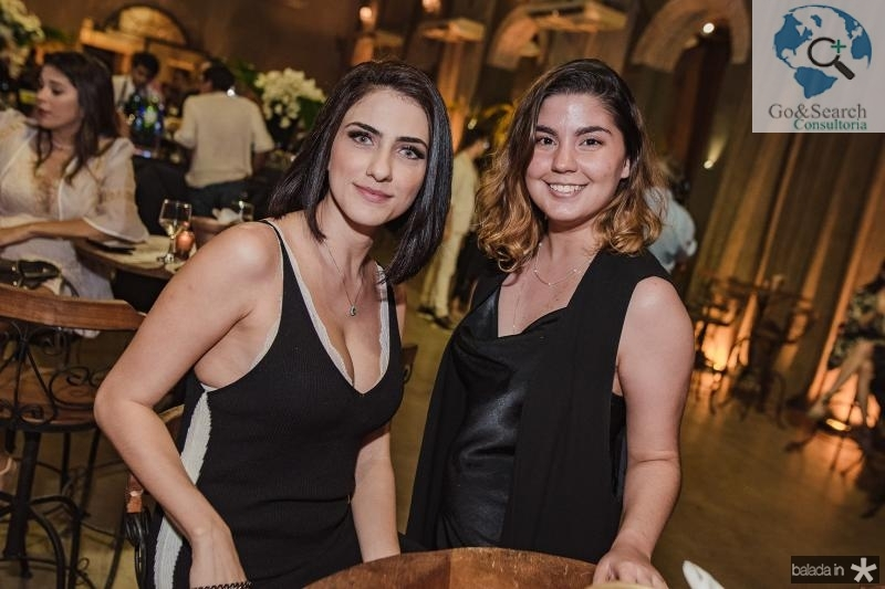 Larissa America e Cecilia Timbo